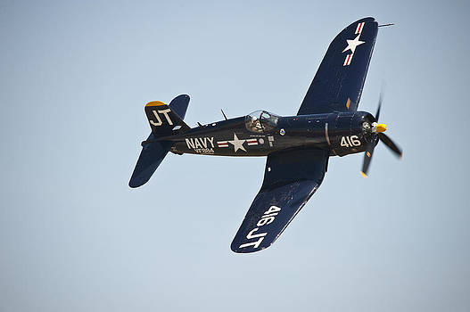 F4U Corsair by Rick Hartigan