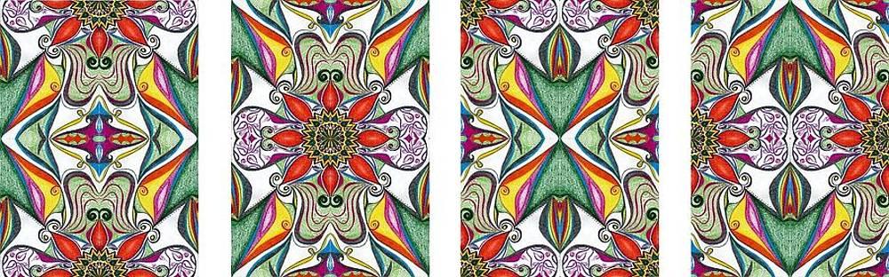 Samar Asamoah - Fabric Flowers