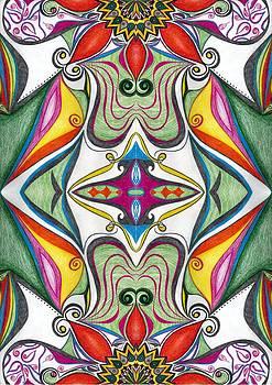 Fabric Flowers1 by Samar Asamoah