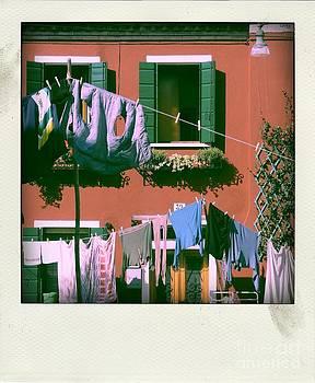 BERNARD JAUBERT - Facades of Burano. Venice