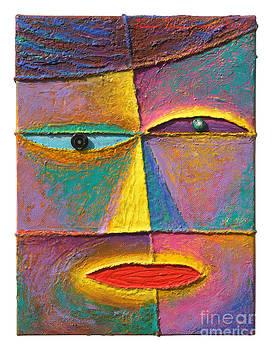 Face 4  by Opas Chotiphantawanon