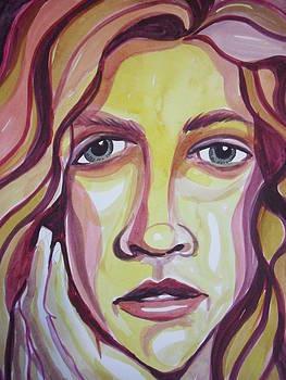 Face of a Girl by Aleksandra Buha