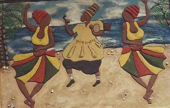 Faceless dancers by Adetoun Adetimehin