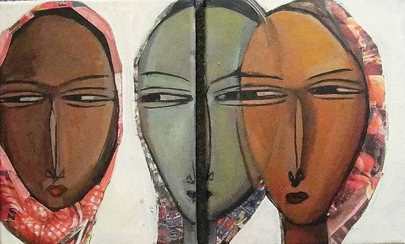 Faces  by Fetunwork Amedie