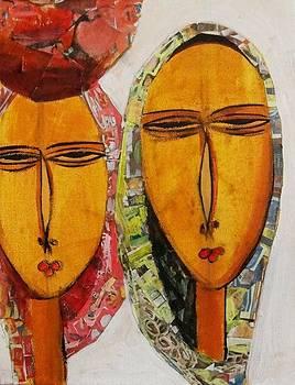 Faces I by Fetunwork Amedie