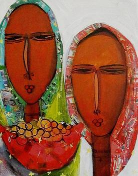 Faces II by Fetunwork Amedie