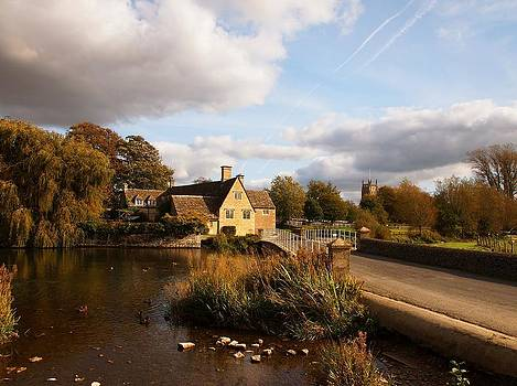 Fairford Mill in the Evening by Nick Temple-Fry