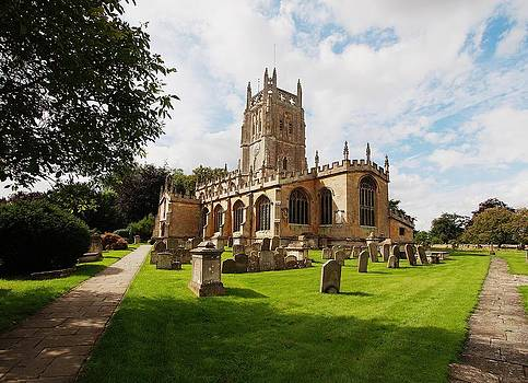 Fairford St Mary's Church Gloucestershire England by Nick Temple-Fry