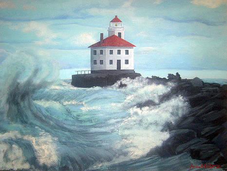 Fairport Harbor Lighthouse by James Violett II