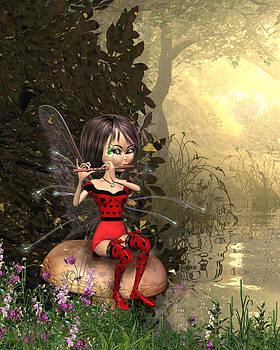 John Junek - Forest Fairy playing the flute