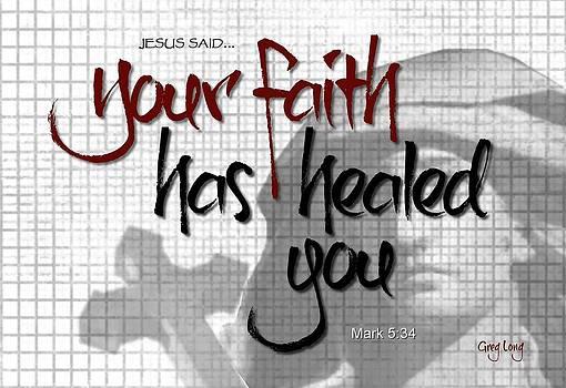 Faith accomplished by Greg Long