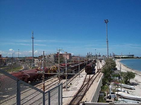 Falconara Station by Davide Barbanera
