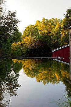 Fall Colours at Decew Falls by Jim Koniar
