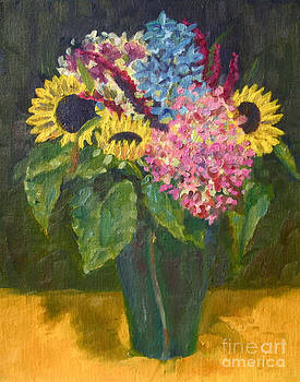 Fall Flowers by Jane  Simonson