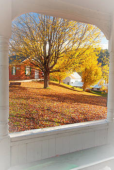 Fall Gazebo View 6544  by Ken Brodeur