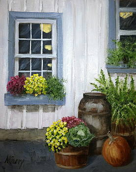 Fall in Carversville by Margie Perry