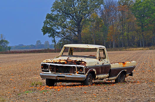 Fallen Truck 2 by Peter  McIntosh