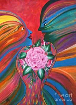Falling In Love by Iris  Mora