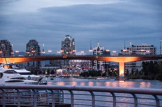 False Creek Evening Vancouver by Shari Whittaker