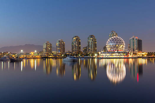 False Creek Reflections by Mirco Millaire