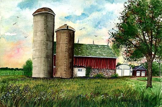 Family Farm by Steven W Schultz