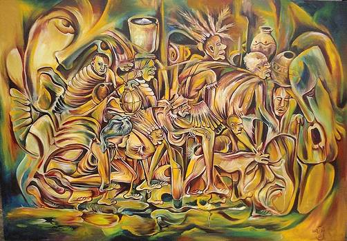 Family on Exile by Yenaye  Rene Mkerka