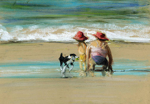 Paul Mitchell - Family On The Beach