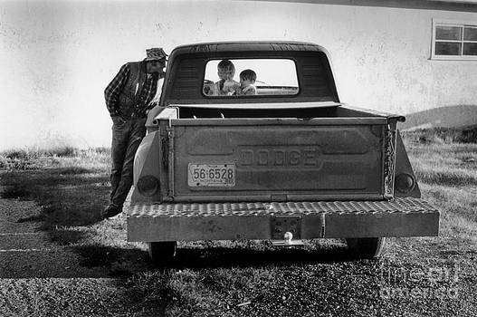 Family Pickup Truck by Homer Sykes
