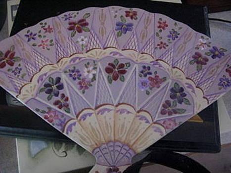 Fancy fan by Fran Haas