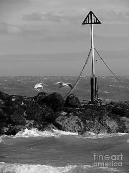 Far Point - Walton On Naze by J J  Everson