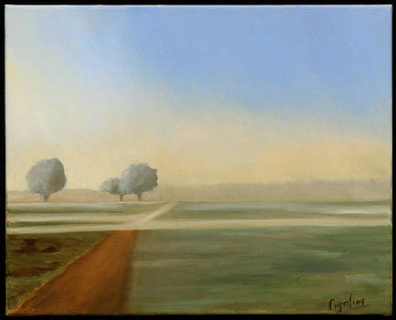 Farm Morning by Gloria Cigolini-DePietro