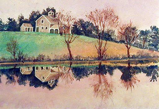 Farm Pond by Robert Harvey