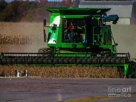 Farming In Fall by Alisha Greer