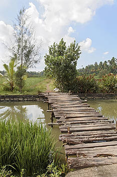 Kantilal Patel - Farmland Footbridge