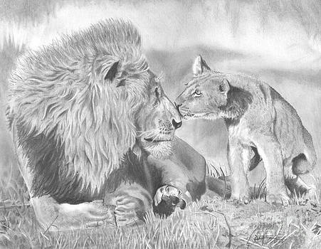 Father and Cub by Christian Conner