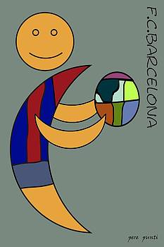 F.c.barcelona V.6 by Pere Punti