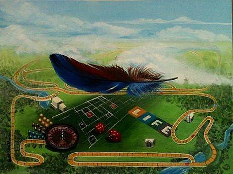 Feather in the Wind by Beth Smith