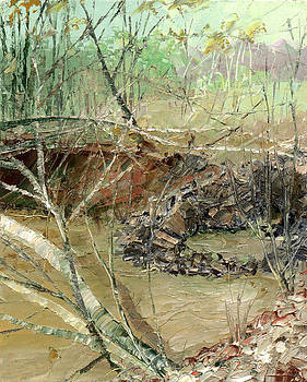 February Stream by Sergey Zhiboedov