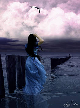 Feeling Blue by Adro Von Crow