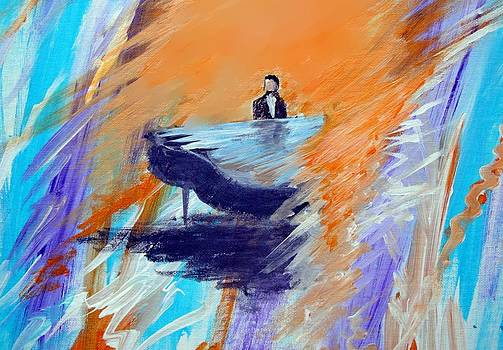 Feelings Of The Piano  by Larry Cirigliano