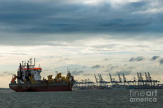Felixstowe Docks by Andrew  Michael