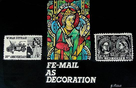 FeMail as Decoration by Joan Pollak