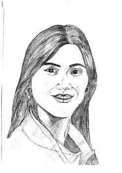 Female Portrait by Priya Arun