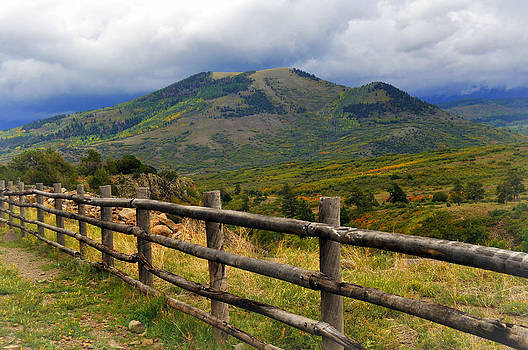 Marty Koch - Fence Row and Mountains