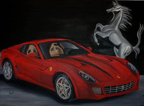 Ferrari 599 by Aaron Acker