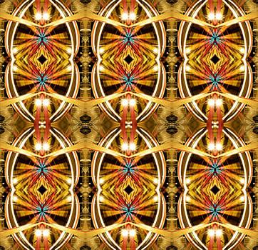 Ferris Wheel Lights by Glennis Siverson
