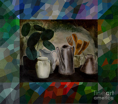 Ficus and Cans by Jukka Nopsanen