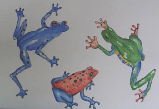 Fidgeting Frogs by Linda Krupp