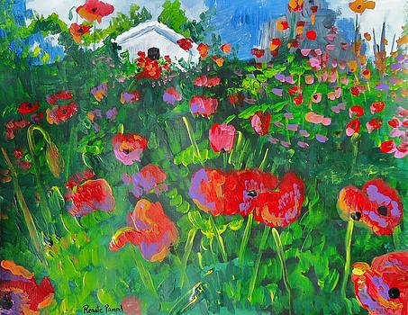 Field of Poppies by Renate Pampel