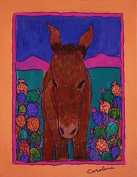 Fiesta Burro by Carolene Of Taos